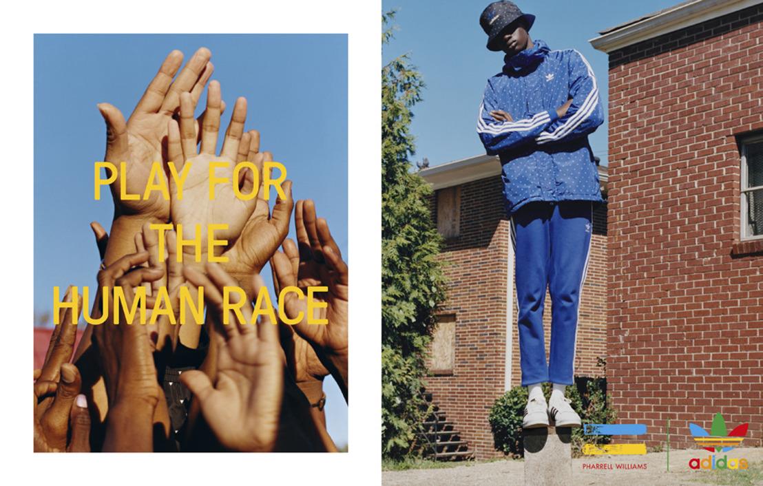 adidas Originals = PHARRELL WILLIAMS Hu Holiday: ¡Celebra la diversidad!