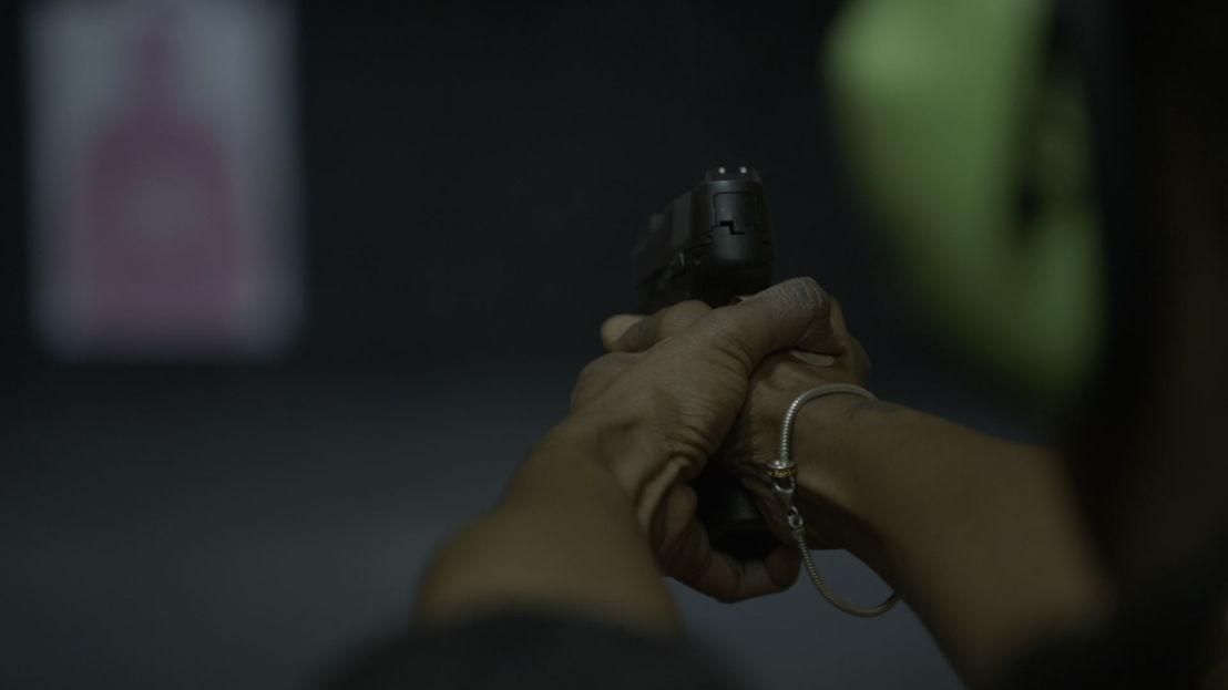 Nicky revolver<br/>Dwars door Amerika (c) VRT