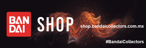 """Abre en México """"Bandai Collectors Shop"""" la primera tienda en línea de Bandai México con el catálogo mejor seleccionado de figuras coleccionables"""