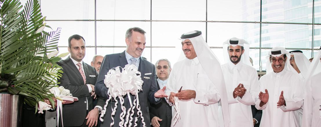 سعادة السيد محمد بن عبدالله الرميحي وزير البلدية والبيئة يفتتح معرض The BiG 5 Qatar اليوم