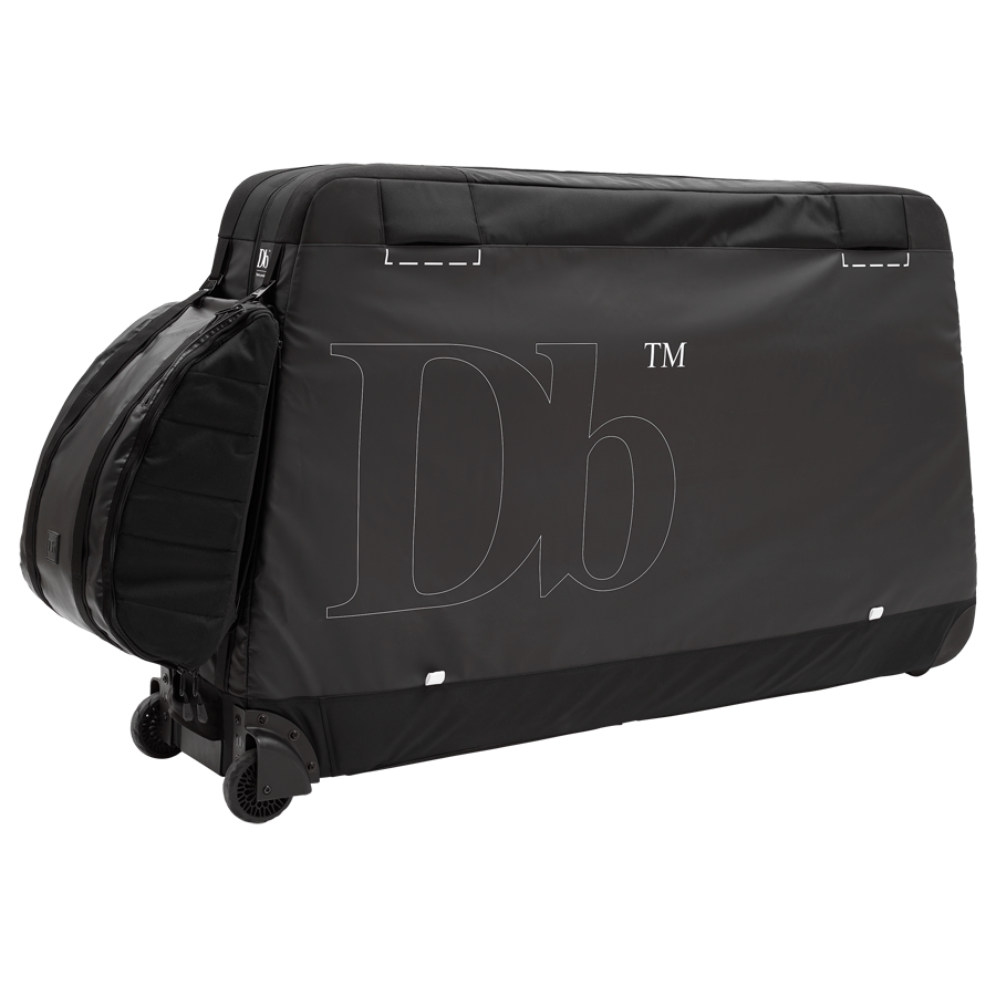 Savage Bike Bag with Db's Base 15L attached via the patented g-buckle hook-up system