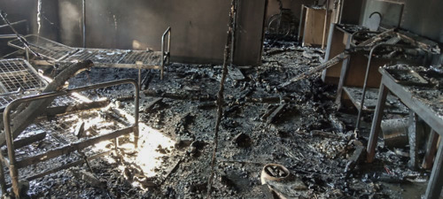 DRC - Hospital supported by MSF is attacked.