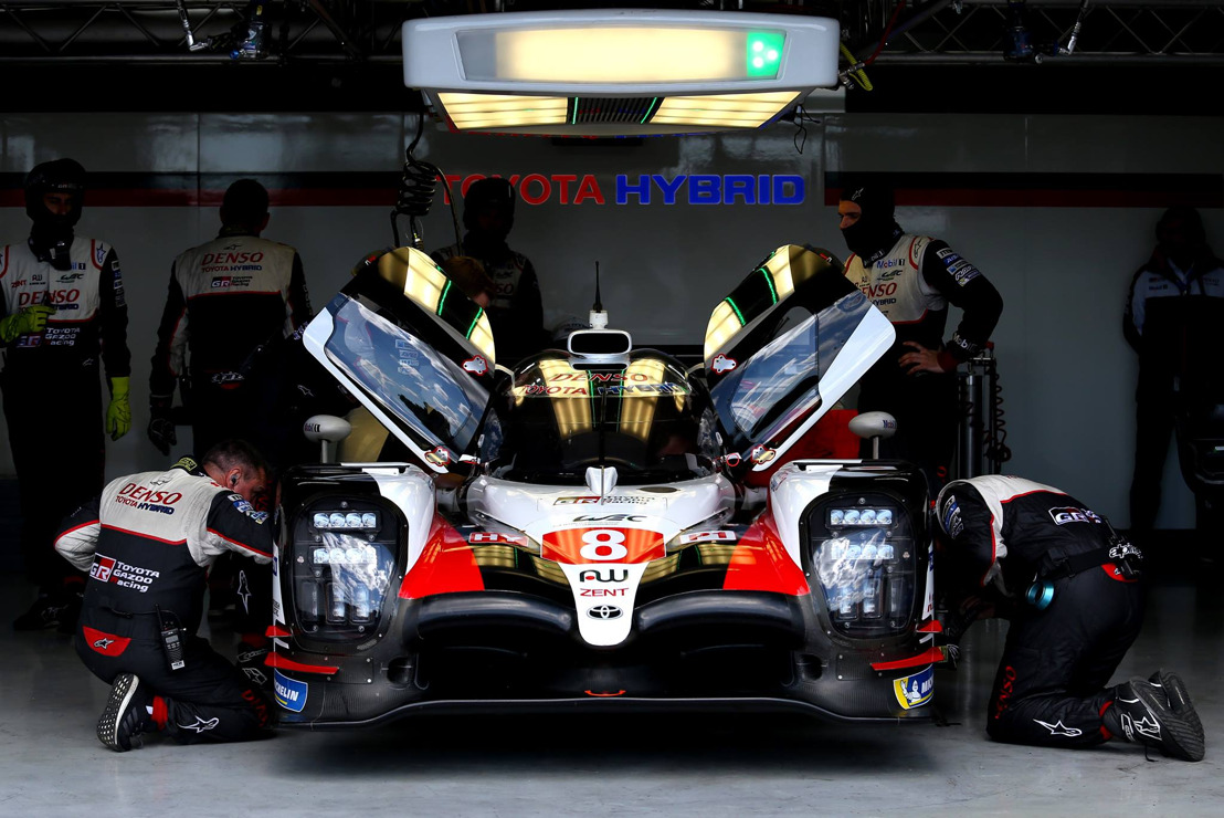 TOYOTA GAZOO RACING WEC - FERNANDO ALONSO HANDS OVER TO BRENDON HARTLEY