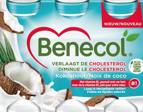 Preview: COMMUNIQUÉ DE PRESSE : Nouveau ! Benecol lance une boisson au yaourt à la noix de coco
