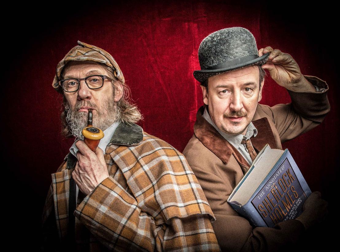 Vitalski en Jean Paul Van Bendegem brengen Sherlock Holmes tot leven op Klara