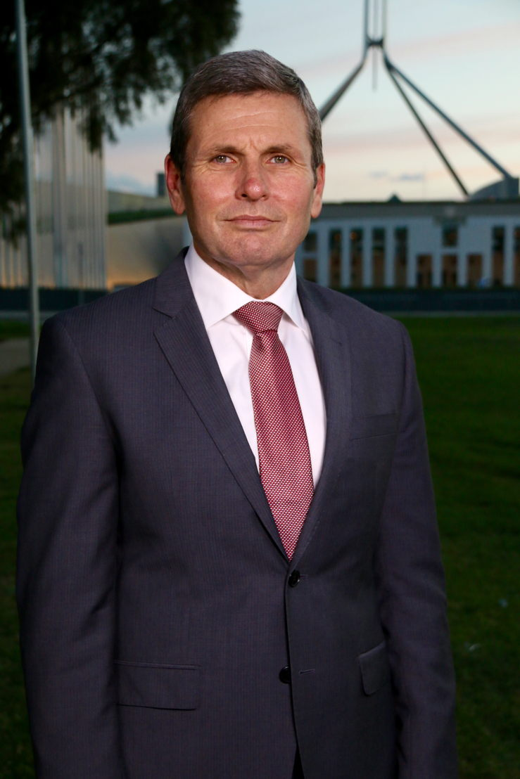Chris Uhlmann moderates the Regional Leaders' Debate