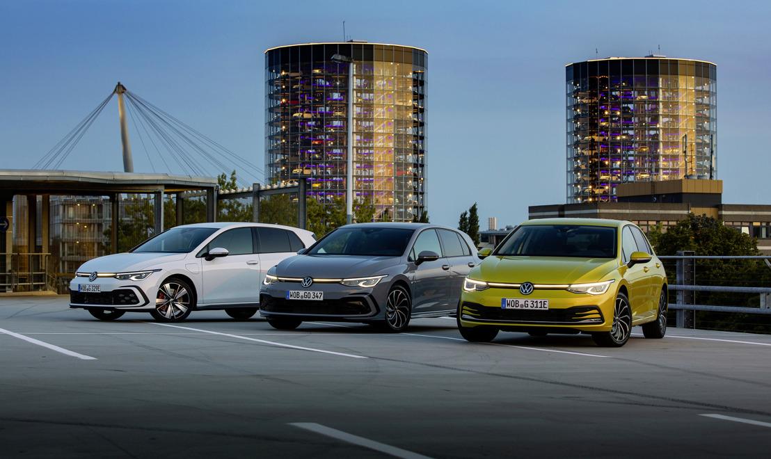 Zéro émission en ville et grande autonomie sur routes : coup d'envoi des ventes de la Golf eHybrid et de la Golf GTE