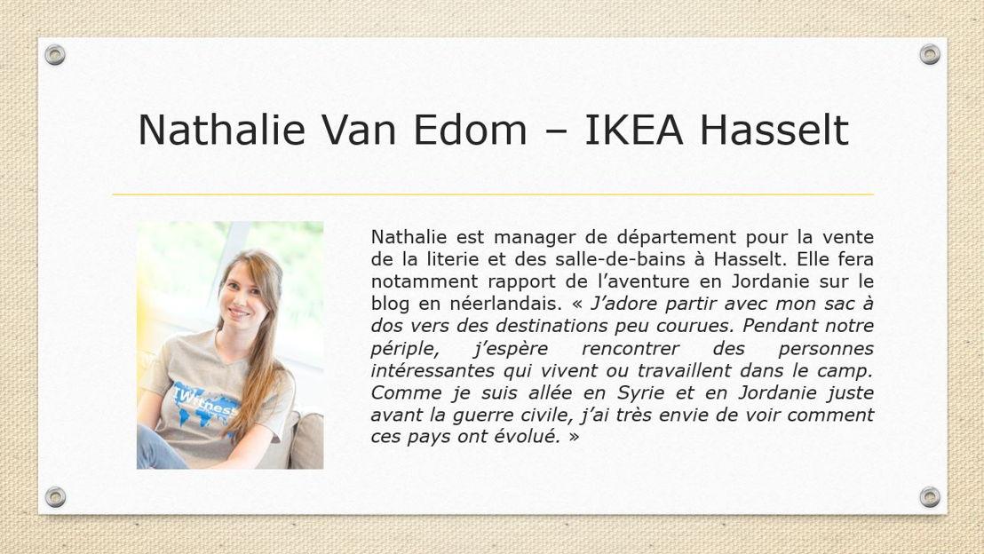 Nathalie Van Edom - IKEA Hasselt