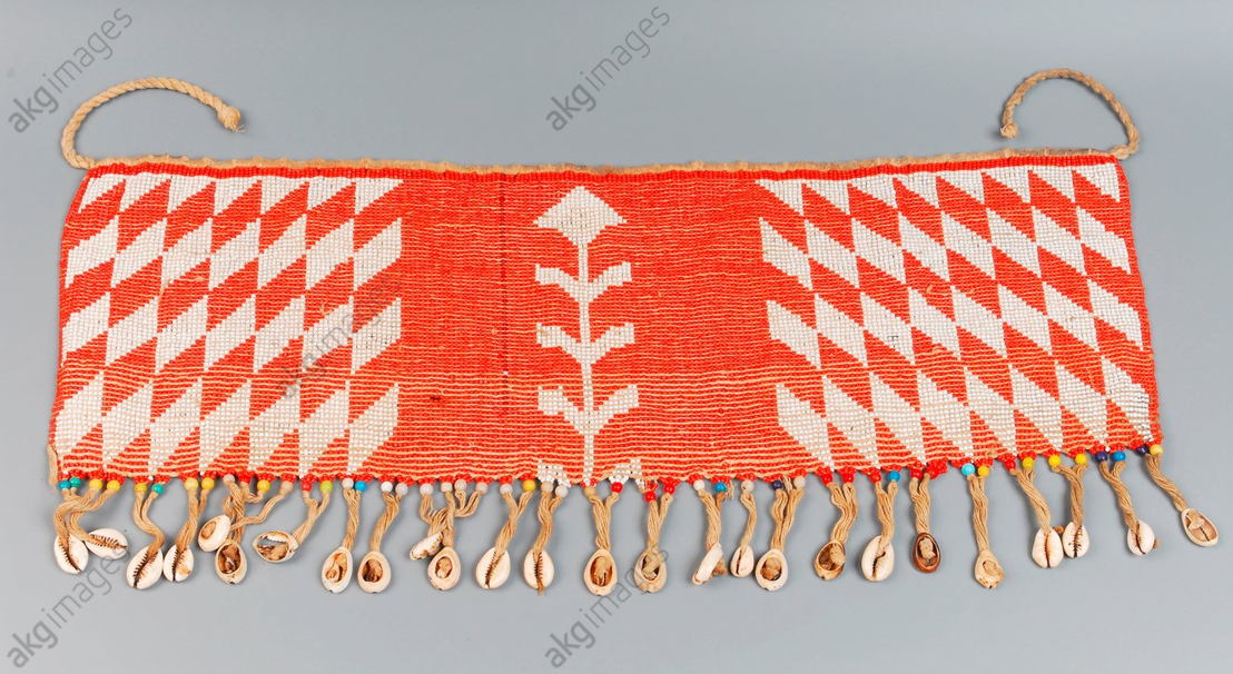 Loincloth made of beads<br/>Sudan Northeast African, Sudan.<br/>Private Collection.<br/><br/>AKG1949528