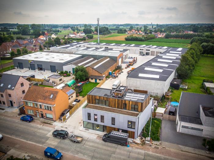 Eerste bedrijven nemen intrek in kmo-park Veldegem Statie