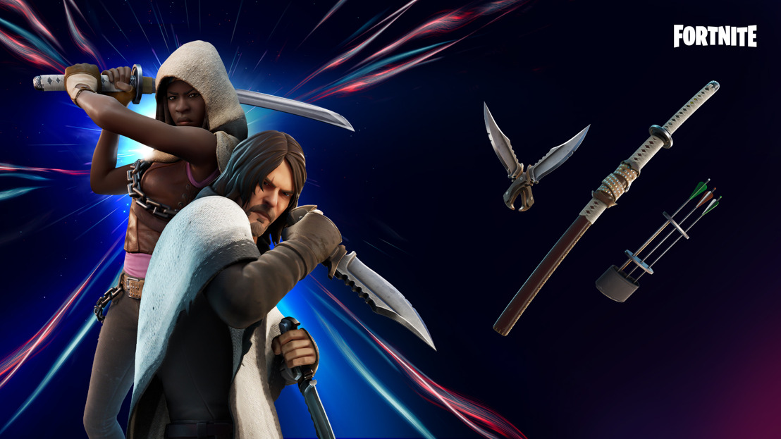 Fortnite Capítulo 2 - Temporada 5: Daryl Dixon y Michonne se unen a La Caza