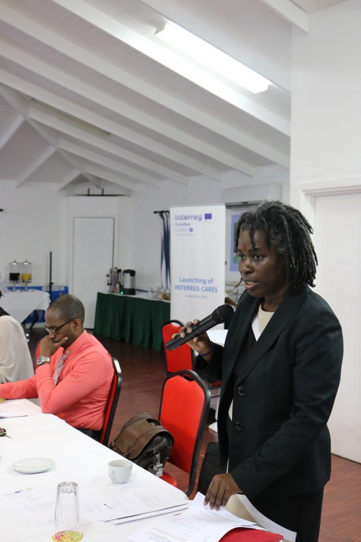 Dr. Carlene Radix - Head of the Health Unit at the OECS Commission