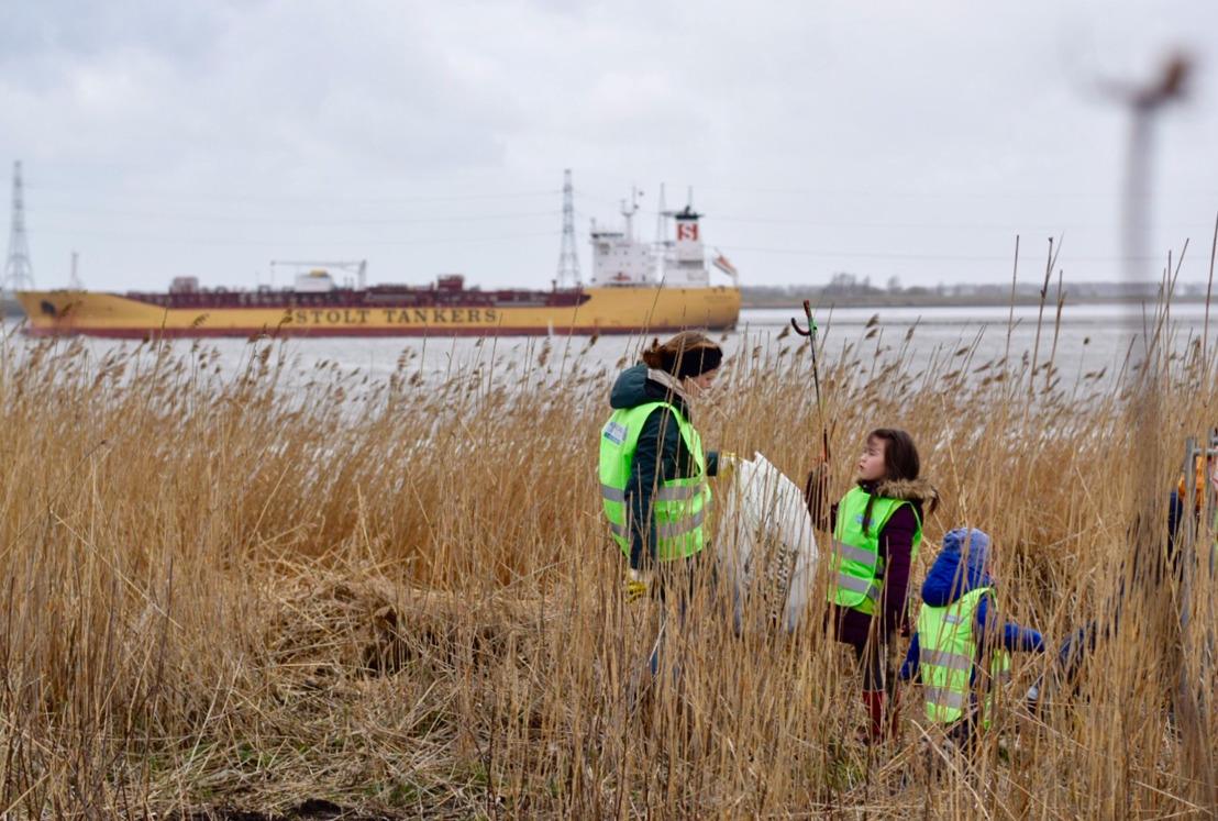 Port of Antwerp bindt strijd aan tegen plastic vervuiling