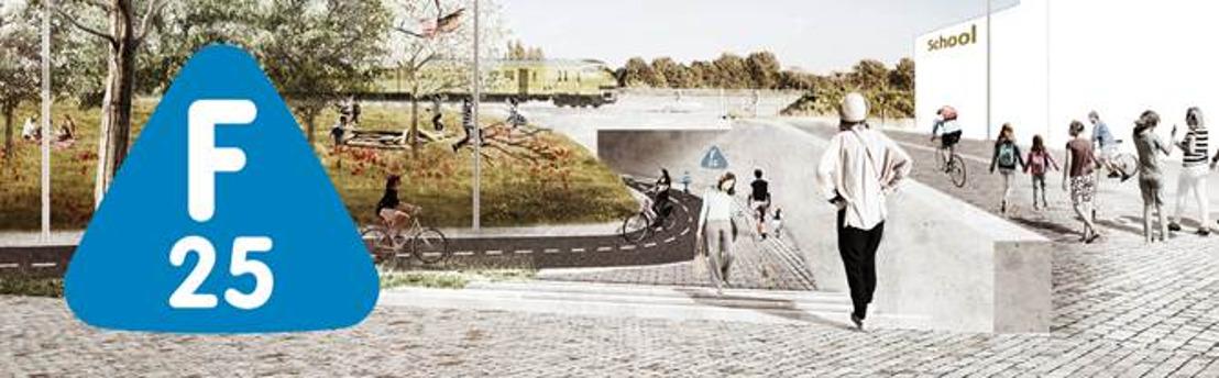 Ontwerpplannen voor fietssnelweg F25 in Holsbeek en Wilsele zijn klaar