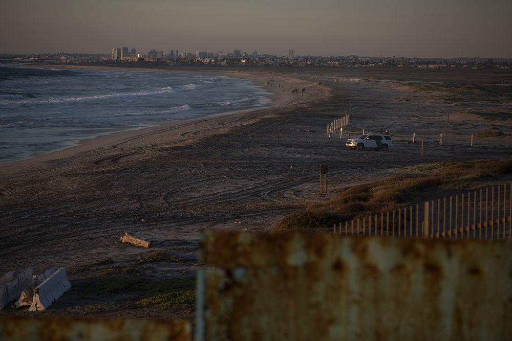 Imagen de la frontera entre México y Estados Unidos en Tijuana. © Cristopher Rogel Blanquet/MSF.
