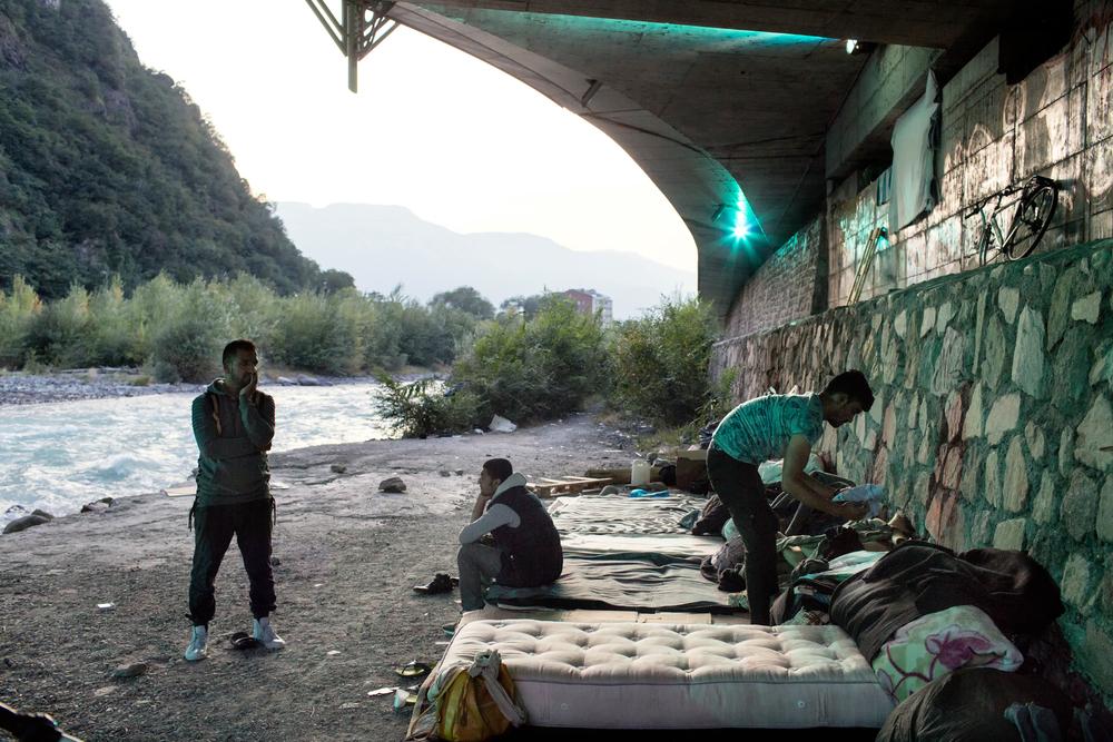 In Bolzano leven zo'n 200 migranten © Alessandro Penso/Maps