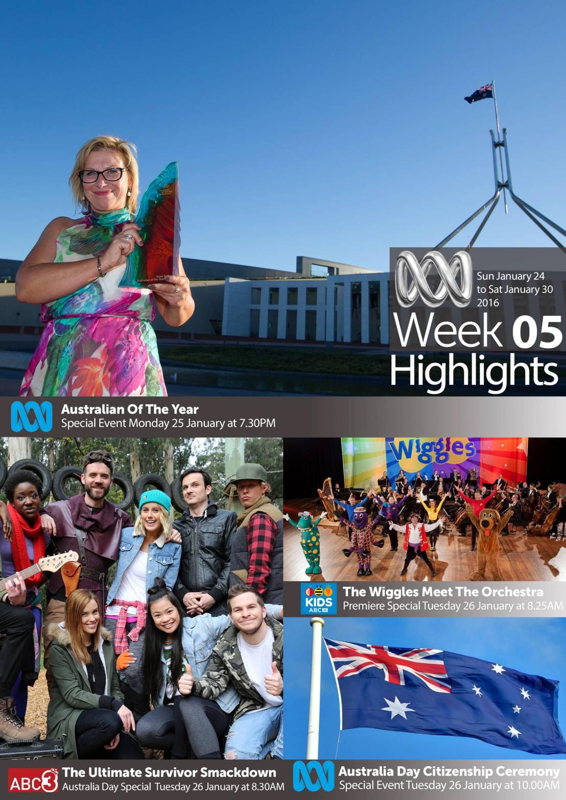 ABC TV Highlights - Week 5