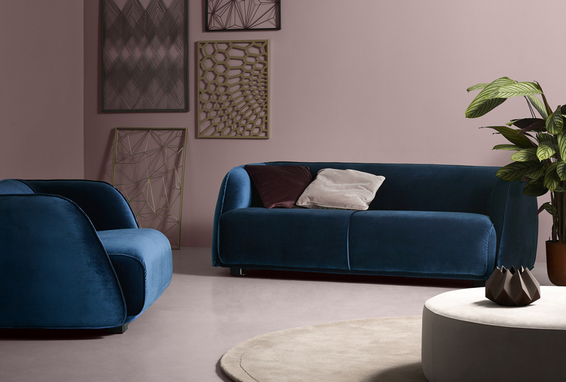 Sofacompany verwent elk interieur met een VIP Velours treatment