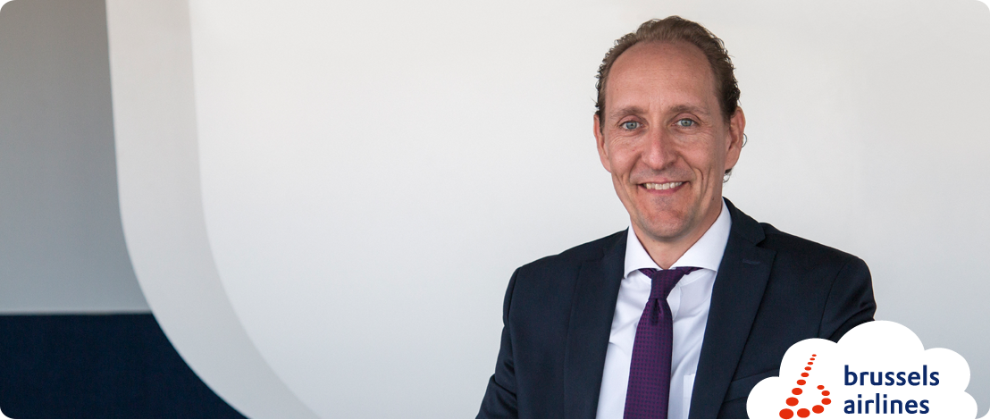 Dieter Vranckx benoemd tot Chief Executive Officer en Chief Commercial Officer van Brussels Airlines