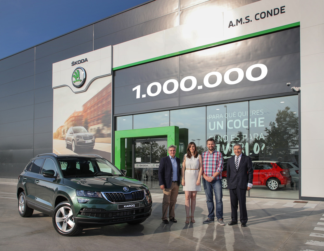 ŠKODA AUTO produces its one millionth sports utility vehicle