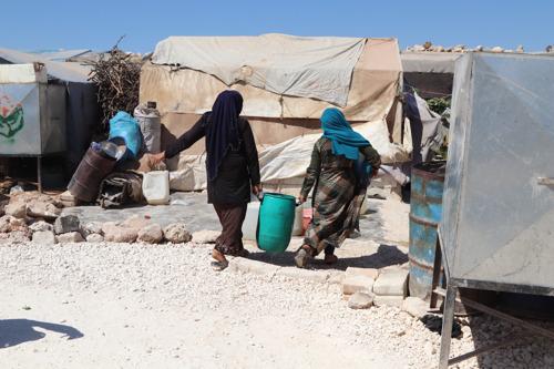 Norte de Siria: la falta de agua potable provoca una situación de emergencia