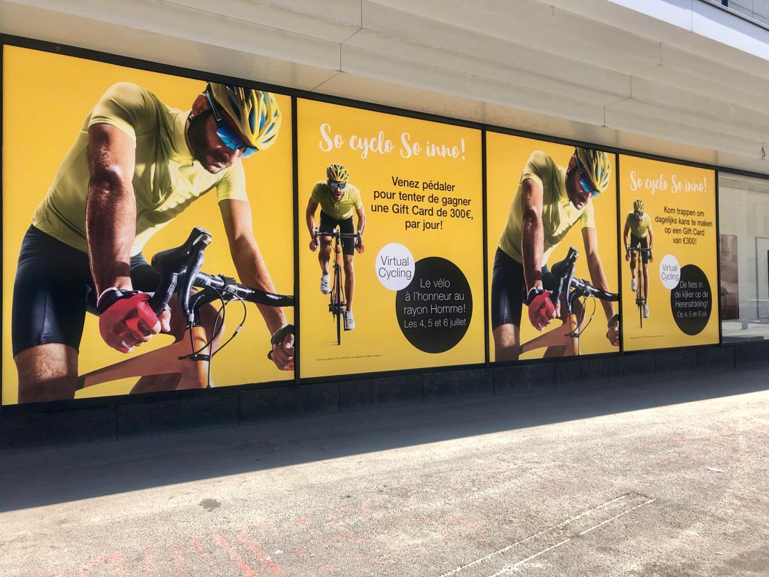 Tour de France : Havas City et Galeria Inno mouillent le maillot !
