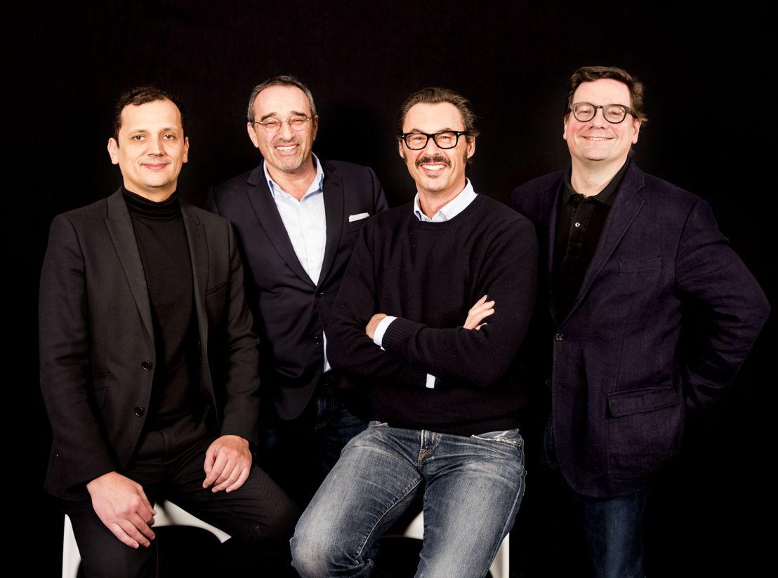 Karim Chouikri, Eric Hollander, Brice Le Blévennec, Stéphane Buisseret