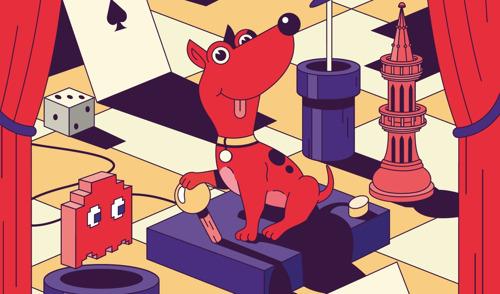 Rode Hond blaft tevreden!