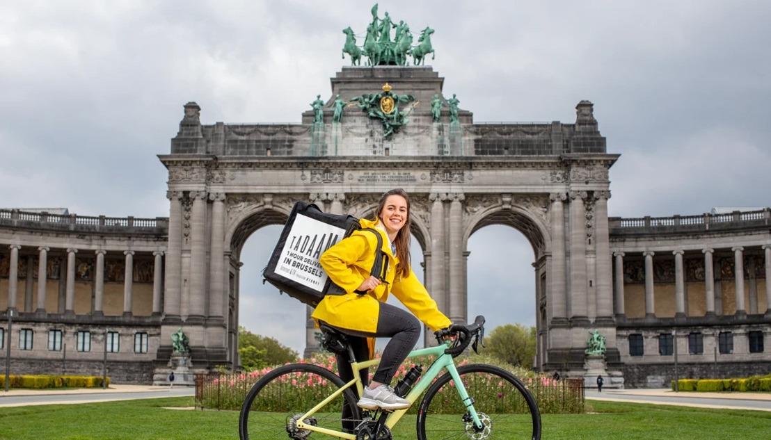 Tour de force de TADAAM : la livraison d'Internet et de la télévision #commeunepizza à Bruxelles