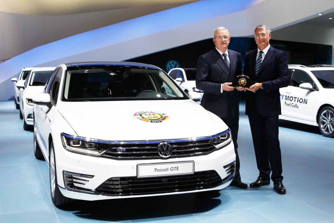Nieuwe Passat is 'Car of the Year 2015'