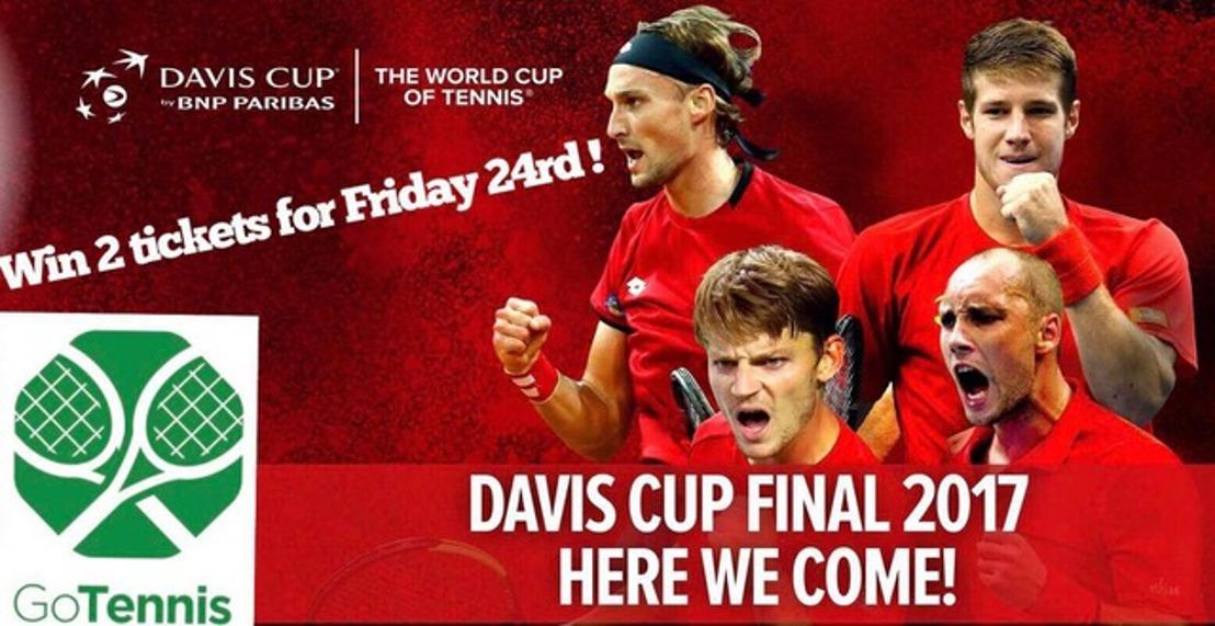 PERSUITNODIGING: Kom naar ons Pre-Davis Cup event en ontdek alles over GoTennis