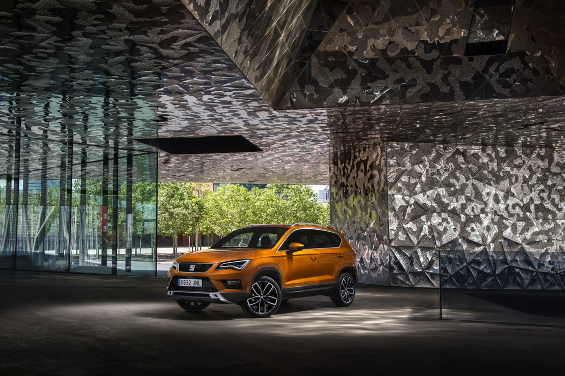 The SEAT Ateca, finalist for AUTOBEST 2017 awards
