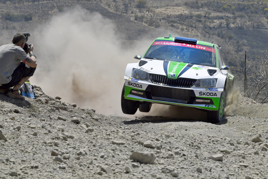 ŠKODA with three crews at Rally Argentina Tidemand wants to repeat his last year's victory