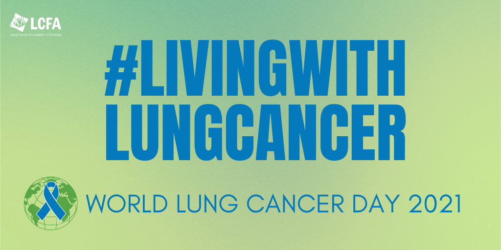 Join LCFA for the World Lung Cancer Day social media takeover on August 1!