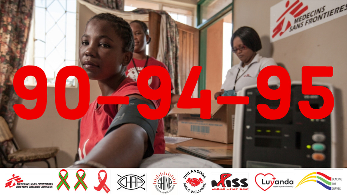 VIH: l'ambitieux objectif des 90-90-90 est atteignable
