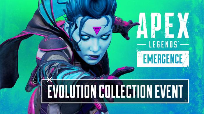 Présentation de l'événement de collection Évolution d'Apex Legends