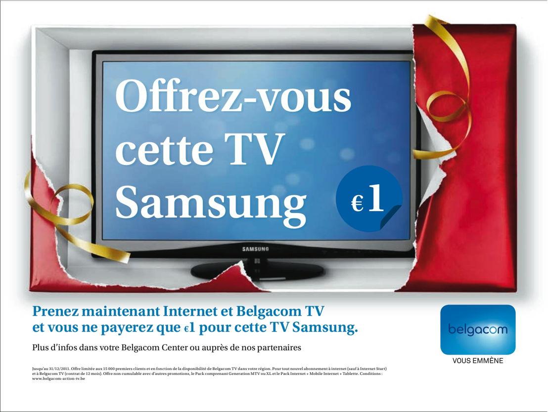 Newspaper - Promo écran plat Samsung