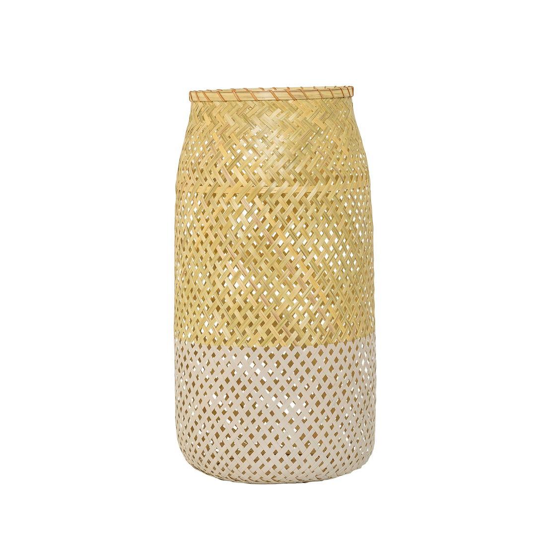 Bloomingville Lantaarn Bamboo/roze - €55