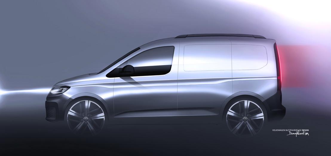 Le nouveau Caddy de Volkswagen Commercial Vehicles: un avant-goût de la première mondiale