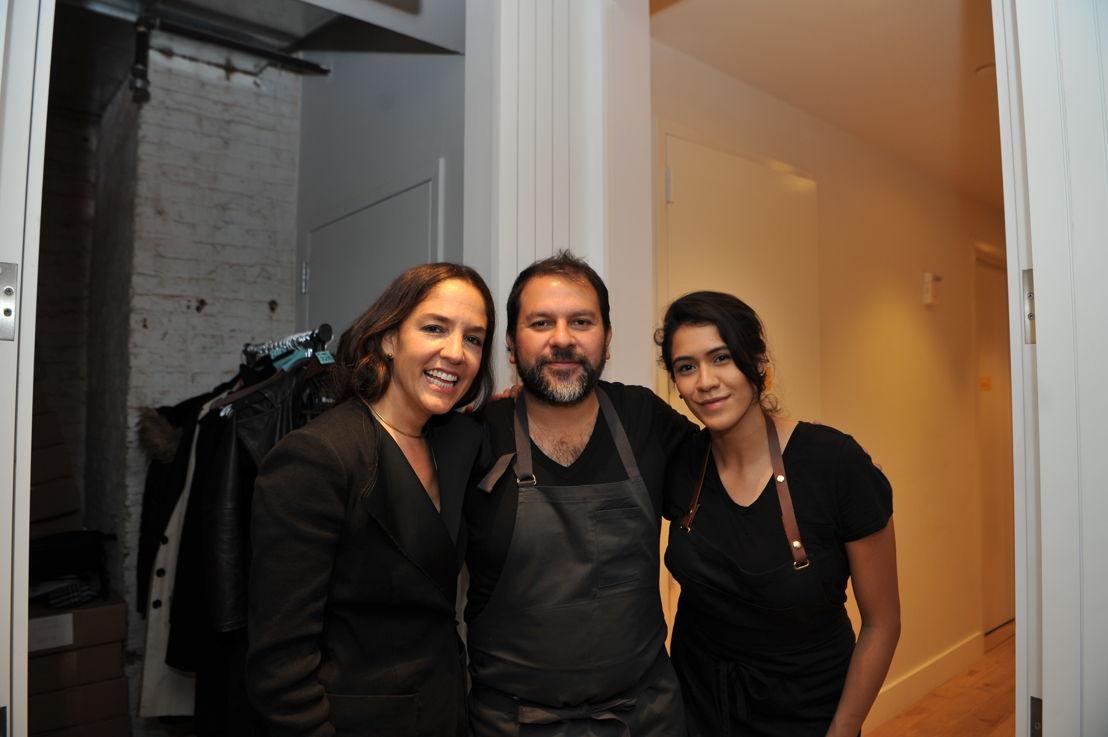 Bertha González Nieves, Enrique Olvera y Daniela Soto-Innes