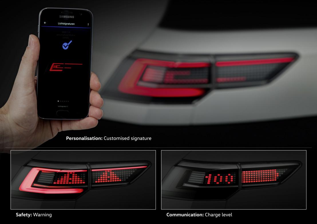 Los faros y luces traseras interactivas ofrecerán mayor seguridad