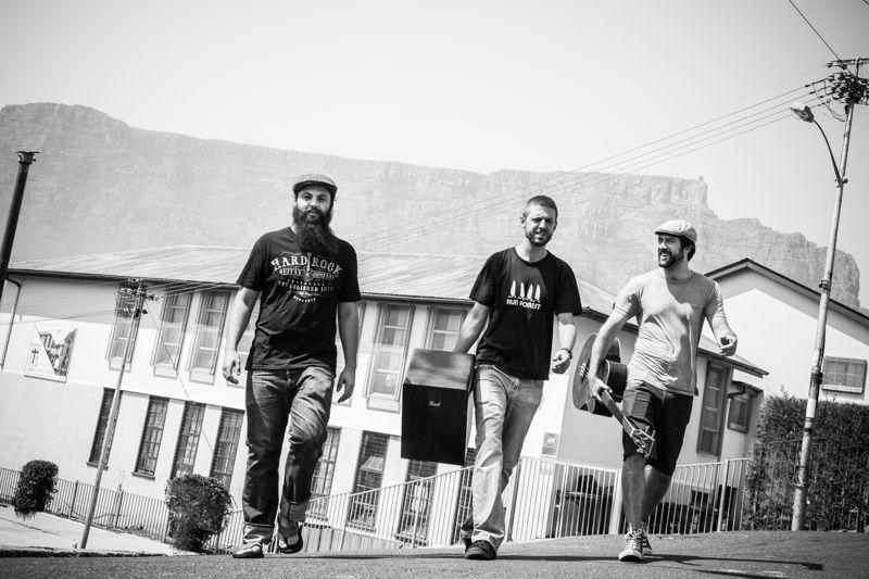 Hatchetman with Jono Tait, Matt Catto and Nick Catto - credit Lorna Darroll