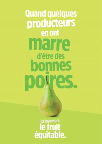 Fairebel werkt samen met Carrefour voor de lancering van een nieuw assortiment appels en peren uit eerlijke handel