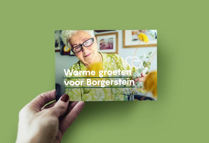 2.500 wenskaarten voor Borgerwijk