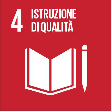 Goal #4: Fornire un'educazione di qualità, equa ed inclusiva, e opportunità di apprendimento per tutti