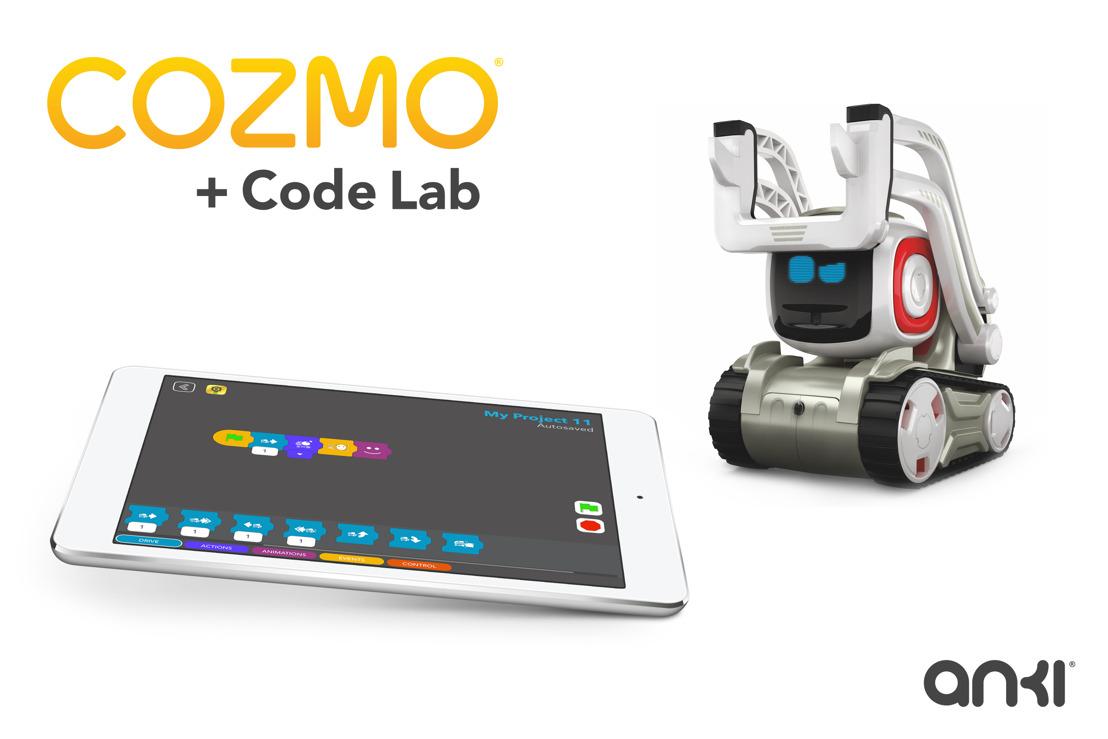 Cozmo: Mit Code Lab präsentiert Anki eine vielseitige Plattform zur Programmierung von Robotern für Einsteiger