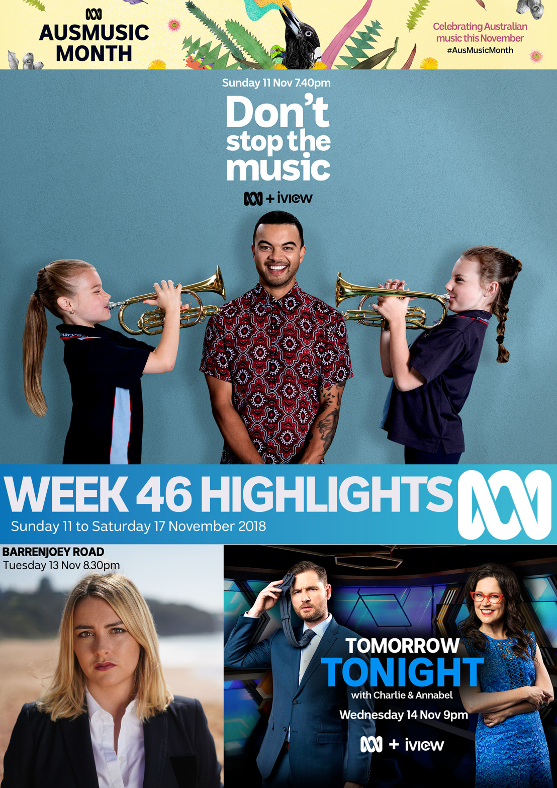 ABC TV Program Highlights - Week 46