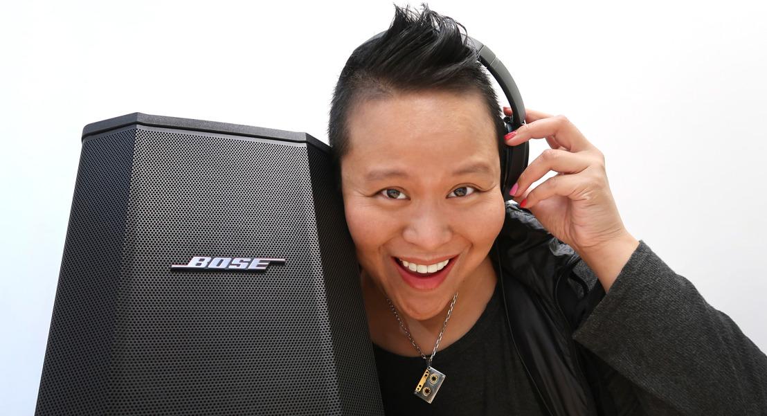 DJ CherishTheLuv comparte su mensaje de amor con ayuda de los sistemas de sonido Bose Profesional