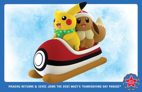 Pokémon dévoile un nouveau ballon pour le défilé de la « Macy's Thanksgiving Day Parade® »