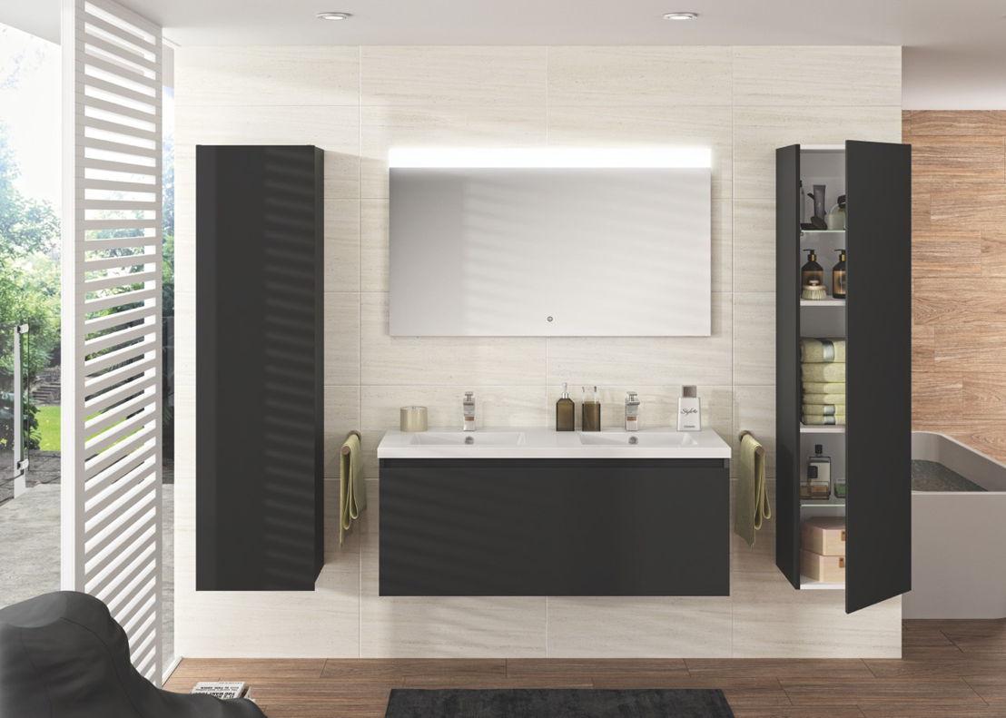 Allibert Badkamer Kast : 4 stijlen 1 badkamer